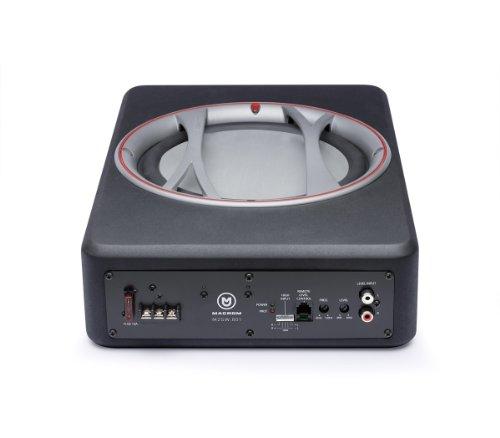 Macrom M2SW.801 Subwoofer Amplificato Attivo, Nero