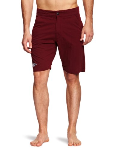 Independent Ditch Men's Shorts Burgundy W34 IN