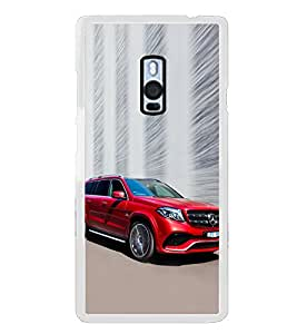 Luxury Red Car 2D Hard Polycarbonate Designer Back Case Cover for OnePlus 2 :: OnePlus Two :: One +2