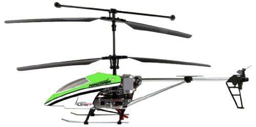 Imagen principal de Cars & Co Company 631 007 4 - Helicóptero Ninco Air R/C Alu-Twin 340 con giroscopio [importado de Alemania]