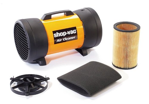 Woodworking Air Cleaner : Read about shop vac air cleaner filtration system