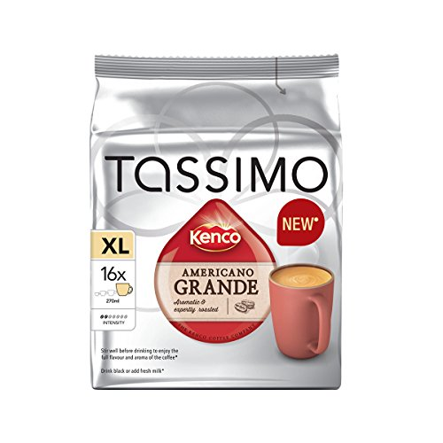 Tassimo Home Use Disks 16's 5 pack Mix N Match (Tassimo Home Use Kenco Americano Grande 16s 5 Pack)
