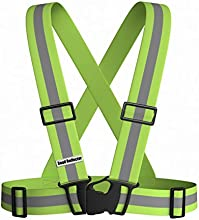 Reflective Vest for High Visibility for Running or Cycling Safety Gear to Always Be Seen