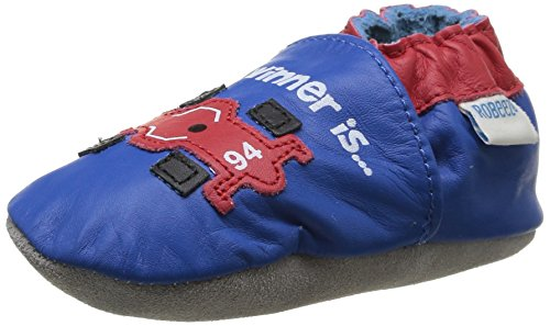 Robeez  Racing,  Scarpe primi passi bambino Blu Bleu (53) 17-18