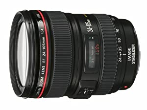 Canon EF 24-105mm f/4 L IS USM Lens for Canon EOS SLR Cameras