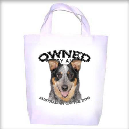 Australian CattleDog BLUE Owned Shopping - Dog Toy - Tote Bag
