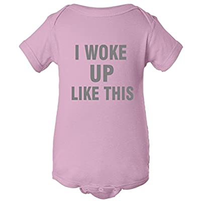 I Woke Up Like This One Piece Baby Bodysuit