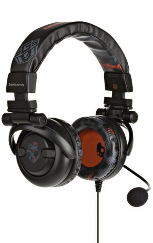 Skullcandy Product Out Of Date Newer Version Available GI PS3 Gaming Headphone with Boom Mic S6GIB3-BR Black/Red