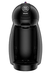 NESCAFE Dolce Gusto Piccolo by Krups KP100040 Coffee Machine, 15 Bar Pressure Pump - Black