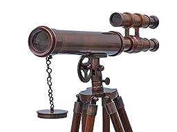 Nauticalmart Floor Standing Antique Copper Griffith Astro Telescope 45\