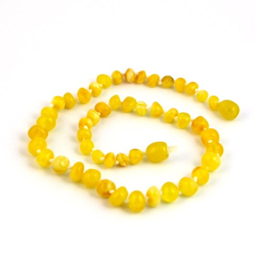 "Hazelaid (TM) 12"" Baltic Amber Milk & Butter Necklace - 1"