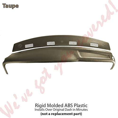 02-05 Ram Molded Dash Cover Cap Skin Overlay FULL KIT Factory Matched (TAUPE) L5 (02 Ram Dash Cover compare prices)