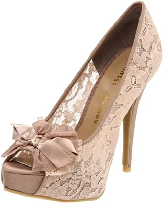Chinese Laundry Women's Hotline Open-Toe Pump,Nude,9 M US