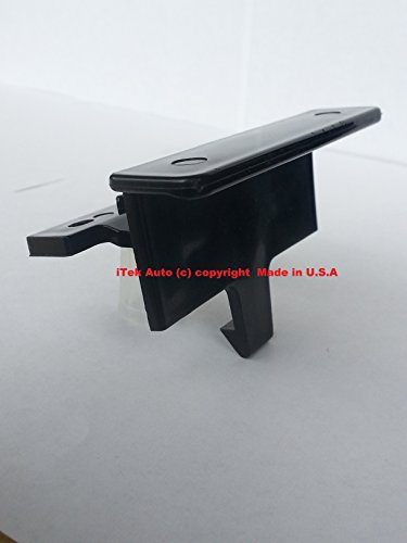 PREMIUM Center Console Latch Redesigned Armrest Lid Handle Lock Clip Made in U.S.A! 07-14 Silverado Suburban Tahoe Avalanche Sierra Yukon Latch Only! Replace Broken Latches for OEM Lids 20864151, 20864153, 20864154 iTEK Auto 10296 (Silverado Center Console Box compare prices)