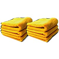 12-Pack Chemical Guys Professional Grade Premium Microfiber Towel (Gold)