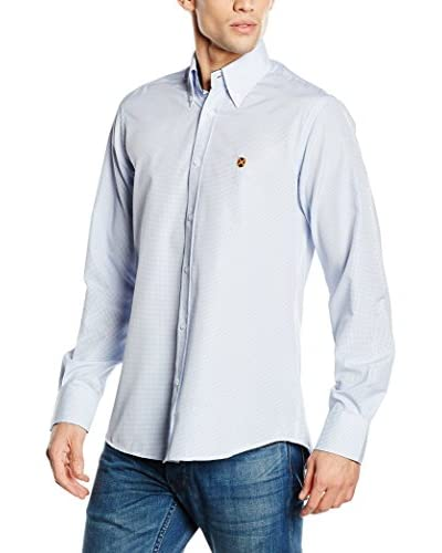 Polo Club Camicia Uomo Gentle Color Trend [Celeste]