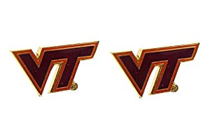 Virginia Tech Hokies Post Stud Logo Earring Set Ncaa Charm