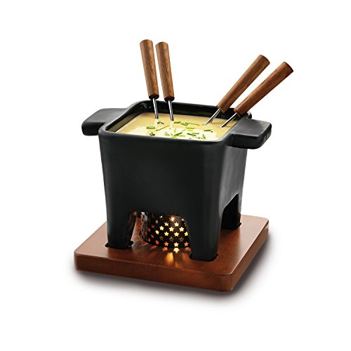 Boska Holland Tapas Cheese Fondue Set, Black