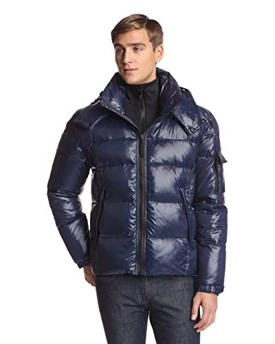 S13 Men's Downhill 27 Inch Quilted Down Jacket With Neoprene Bib