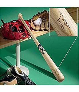 Buy Personalized Engraved Baseball Bat - 30 - Any 2-Line Message by Personal Creations