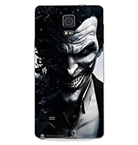 MiiCreations 3D Printed Back Cover for Samsung Galaxy Note 4,Jocker