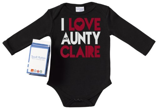 Spoilt Rotten - PERSONALISED I Love Aunty Claire