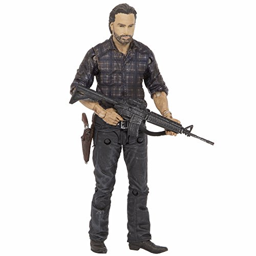 Mcfarlane Toys The Walking Dead Tv Series 7.5 Exclusive Woodbury Assault Rick Grimes Action Figura