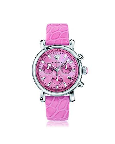 Versace Women's VLB030014 Day Glam Analog Display Swiss Quartz Pink Watch