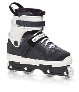 Rollerblade New Jack2 Skate, Black/White, Men's US 3