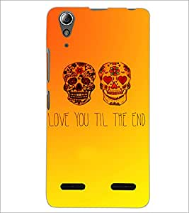 PrintDhaba Quote D-3471 Back Case Cover for LENOVO A6000 PLUS (Multi-Coloured)