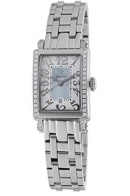 Gevril Women's 8247NEB Super Mini Quartz Blue Mother of Pearl Diamond Watch from Gevril