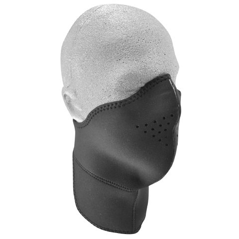 Zanheadgear Neo-X Face Mask With Removable Filter And Neck Shield (Black) front-366708