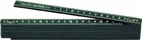 Metrica-Glasfaser-Massstab-2-m-schwarz-18030