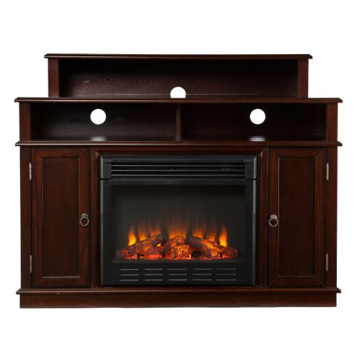 Southern Enterprises AMZ1939FE Lennon Media Console/Stand Electric Fireplace, Espresso picture B00FPHPWGA.jpg
