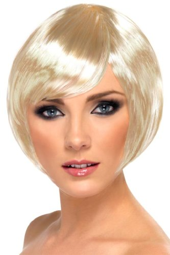 Short blond wig for women [Toy]