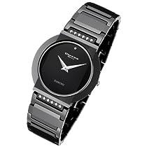 Cirros Luxury Unisex Black Ceramic Watch with Diamond Model 2280GB