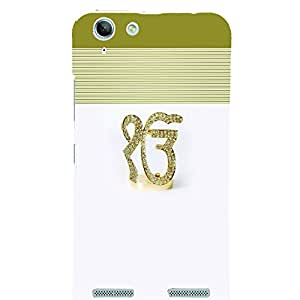 PrintVisa Religious & Spiritual Ek Onkar 3D Hard Polycarbonate Designer Back Case Cover for Lenovo Vibe K5 Plus