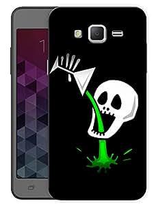 "Humor Gang Skulls Drinking Acid Printed Designer Mobile Back Cover For ""Samsung Galaxy Mega 5.8"" (3D, Matte Finish, Premium Quality, Protective Snap On Slim Hard Phone Case, Multi Color)"