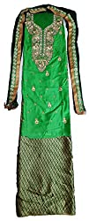 Skhoza full patiala suit with dupatta unstitched material for women