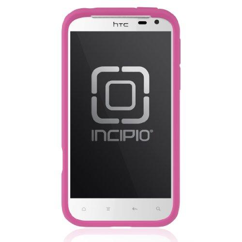 Incipio Ht-255 Htc Sensation Xl Ngp Semi-Rigid Soft Shell Case - 1 Pack - Retail Packaging - Fuchsia Magenta