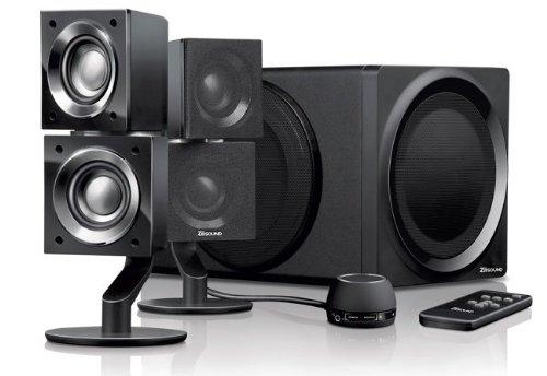 Creative ZiiSound T6 2.1 Wireless Bluetooth Speaker System - Black
