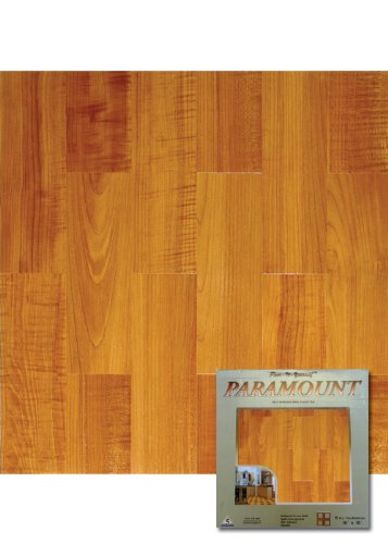Paramount Self-Adhesive Vinyl Floor Tile ST0630E Home Dynamix Flooring - 1 Box Covers 8 Sq. Ft.
