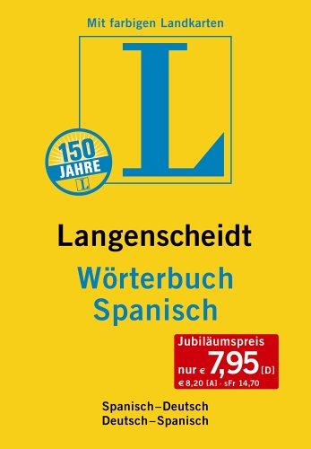 Wörterbuch Spanisch. Langenscheidt. Sonderausgabe