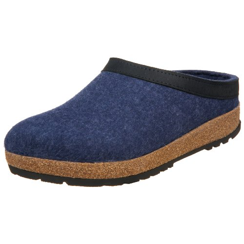 Comfortable Clogs Save: Haflinger Women's Torben Grizzly Slip-On