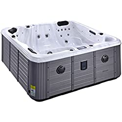 LUXURY HOT TUB BRAND NEW - AQUA HAPPY SPA - 5 SEATER - UK DELIVERY