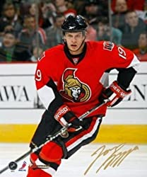 Jason Spezza Signed 8X10 Unframed - Red Action-V