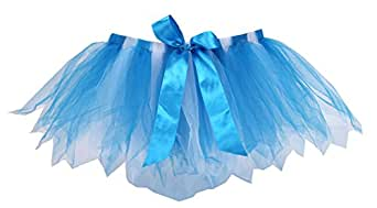 Liliany Light Blue Girls' Bowknot Fairy Tutu Skirt Petticoat