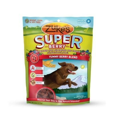Zuke's Supers Nutritious Soft Superfood Dog Treats
