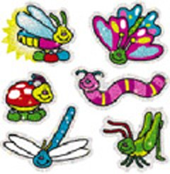 DAZZLE STICKERS BUGS 90-PK - Buy DAZZLE STICKERS BUGS 90-PK - Purchase DAZZLE STICKERS BUGS 90-PK (Carson Dellosa, Toys & Games,Categories,Arts & Crafts,Stamps & Stickers)