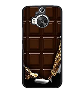 Chocolate 2D Hard Polycarbonate Designer Back Case Cover for HTC One M9 Plus :: HTC One M9+ :: HTC One M9+ Supreme Camera